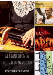 FRANCOFONÍA 2020 Del16 al 20 marzo cartel